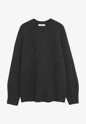 PUNTO OVERSIZE - Svetr - dark heather grey
