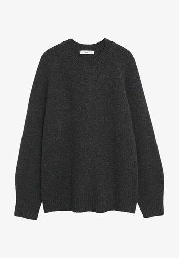 PUNTO OVERSIZE - Pullover - dark heather grey