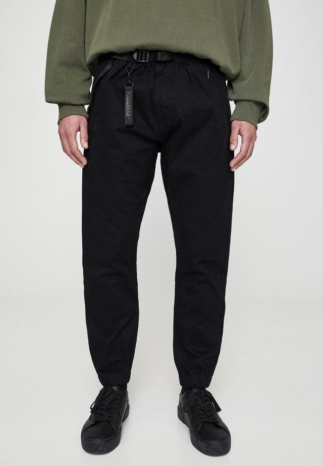 Pantaloni - metallic black