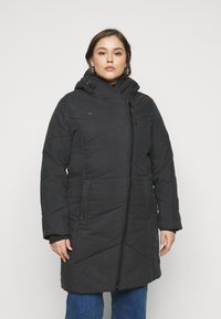 Ragwear Plus - GORDON LONG PLUS - Vinterkåpe / -frakk - black - 2