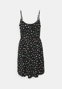Even&Odd - Sukienka z dżerseju - black/white - 4