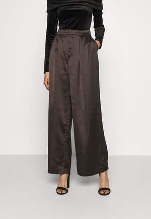 MINA TROUSERS - Trousers - black
