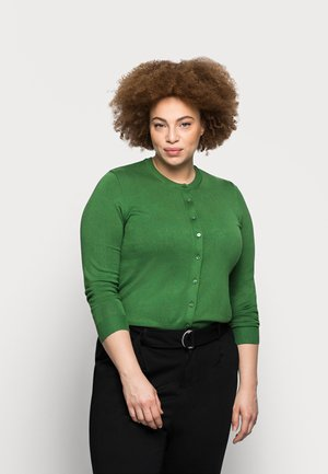 CREW CARDI PLAIN - Cardigan - green