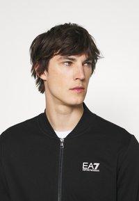 EA7 Emporio Armani - Zip-up sweatshirt - black - 4