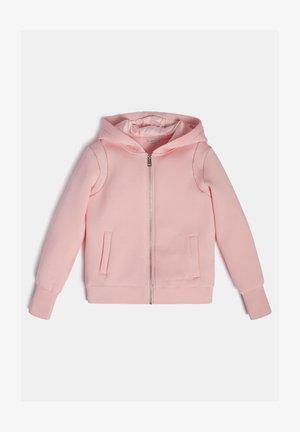 Sweater met rits - rose