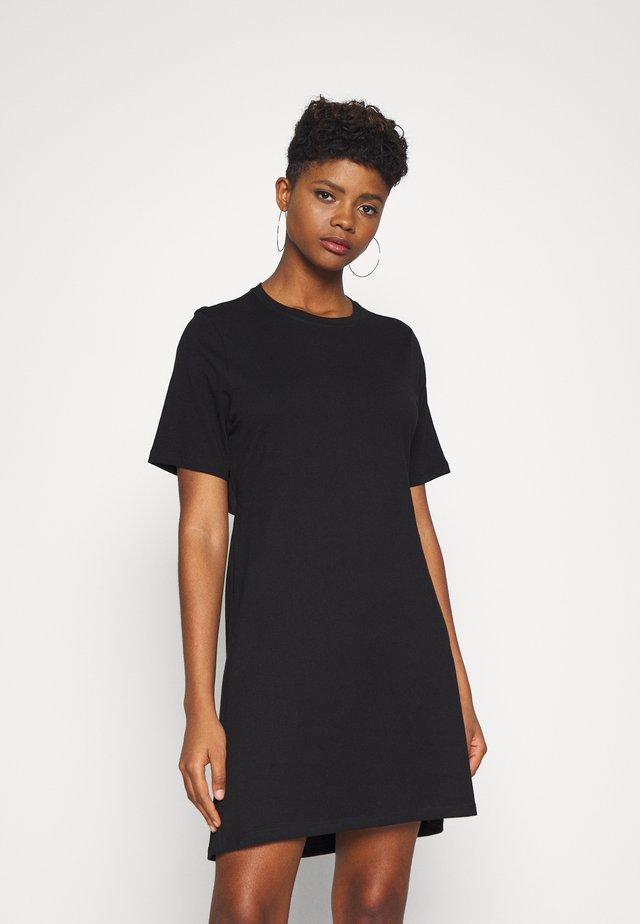 MELINDA DRESS - Jersey dress - black