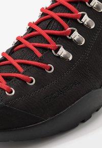 Scarpa - MOJITO ROCK - Zapatillas de senderismo - black - 6