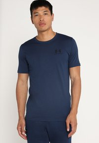 Under Armour - SPORTSTYLE LEFT CHEST - T-shirt basic - academy/black - 0