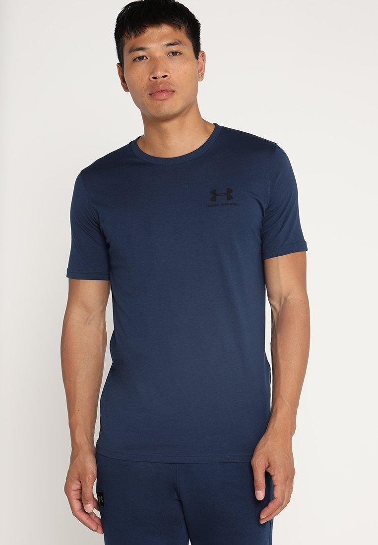 Under Armour - Camiseta básica - academy/black