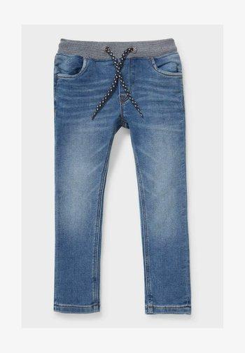 Straight leg jeans - denim-light blue