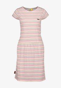 alife & kickin - SHANNAAK - Jersey dress - white - 5