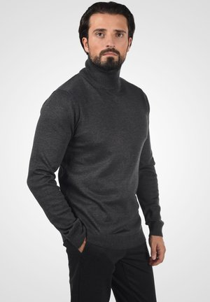 AGRIO - Jumper - dark grey melange