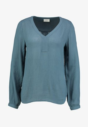 AMBER - Long sleeved top - orion blue