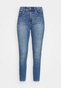 Abercrombie & Fitch - STAR - Jeans Skinny Fit - indigo - 4