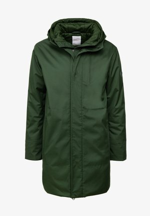 LONG SOFT SHELL JACKET  - Winter coat - green forest