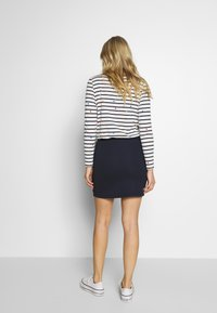 GANT - GANT LOCK UP SKIRT - Mini skirt - evening blue - 2