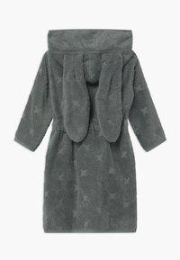 Müsli by GREEN COTTON - BATHROBE BUNNY UNISEX - Dressing gown - lagoon green - 1