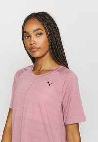 Puma - STUDIO RELAXED TEE - Camiseta de deporte - foxglove heather - 3