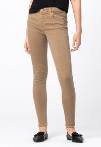 HALLHUBER - Jeans Skinny Fit - camel - 0