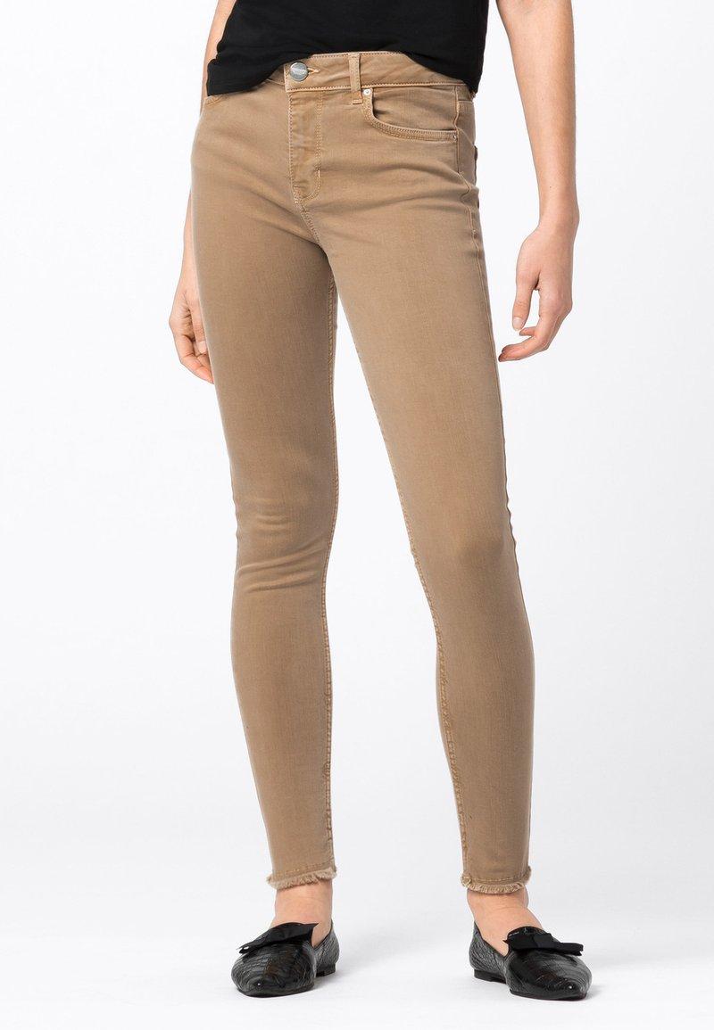 HALLHUBER - Jeans Skinny Fit - camel
