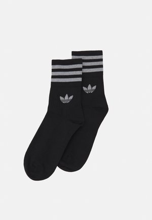 CREW SOCK UNISEX 2 PACK - Socks - black