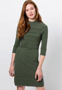 zero - Jumper dress - dark basil - 0