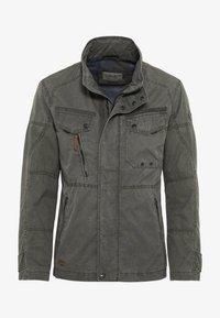 camel active - MIT STEHKRAGEN - Summer jacket - grey - 4