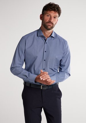 FITTED WAIST - Formal shirt - marine