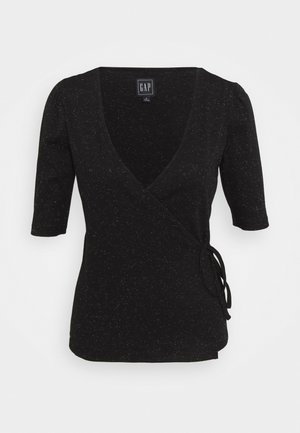 WRAP - T-shirt basique - true black