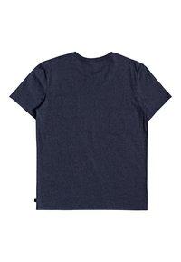 Quiksilver - HIGH PIPED  - Basic T-shirt - navy blazer heather - 1