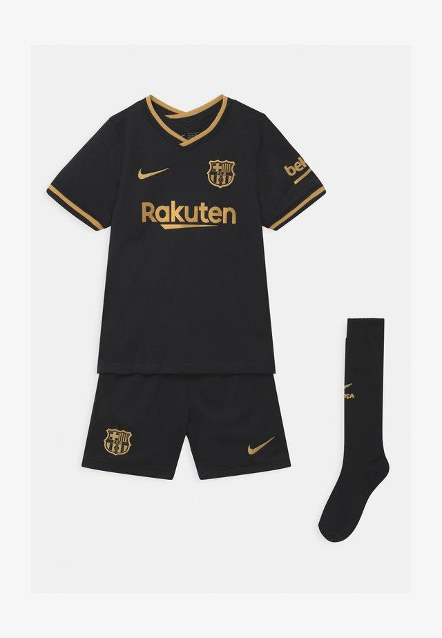 FC BARCELONA SET UNISEX - Squadra - black/metallic gold