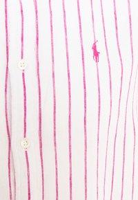 Polo Ralph Lauren - STRIPE LONG SLEEVE - Button-down blouse - white/pink - 6