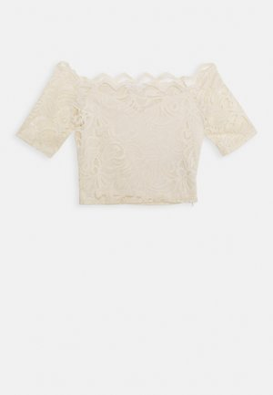 VISTASIA CROPPED - Bluse - birch