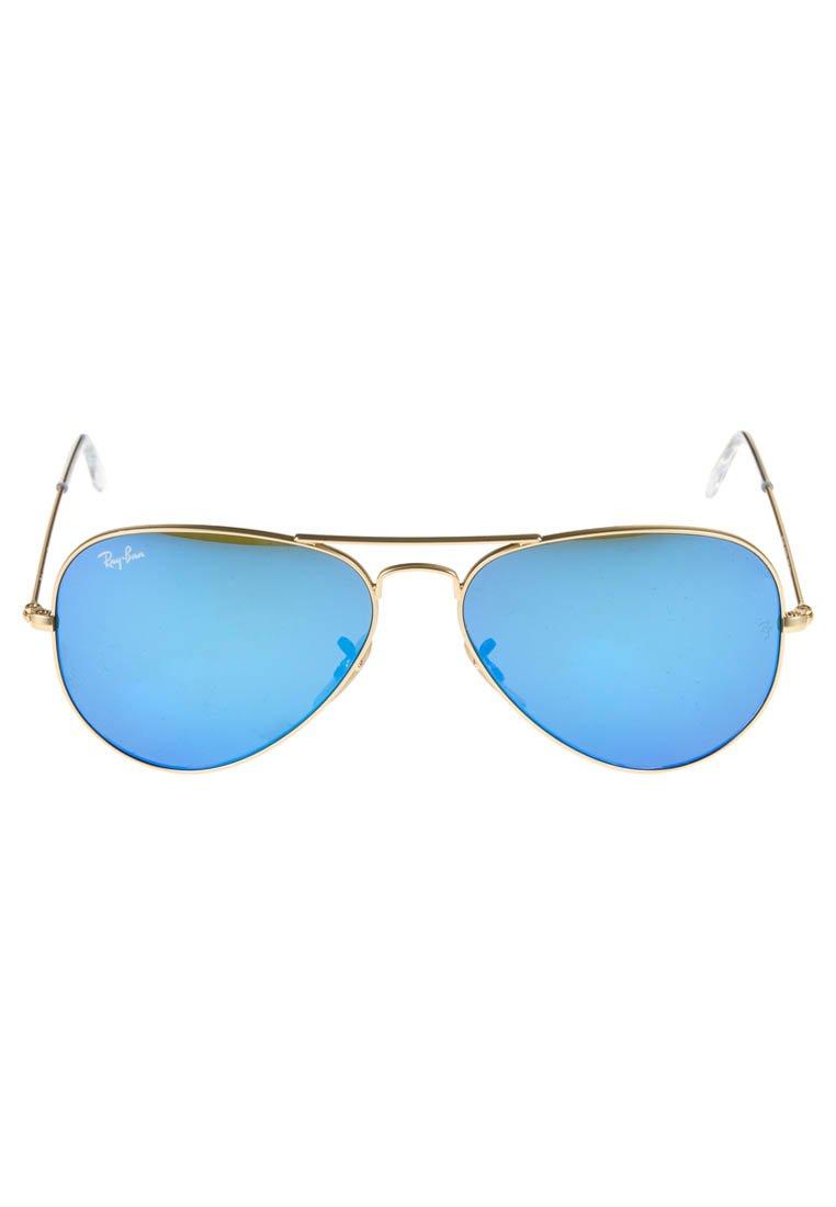 Kup najnowsze Gorąca wyprzedaż Ray-Ban AVIATOR - Okulary przeciwsłoneczne - blau/goldfarben   Akcesoria damskie 2020 rUqHu