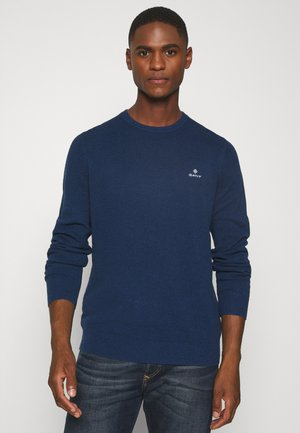 C NECK - Jumper - marine
