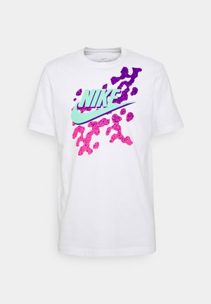 TEE BEACH PARTY FUTURA - Print T-shirt - white