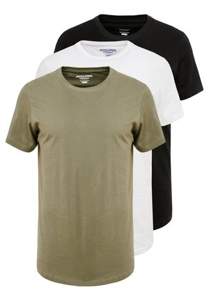 JORBASIC TEE CREW NECK 3 PACK - T-shirt basic - multicolor