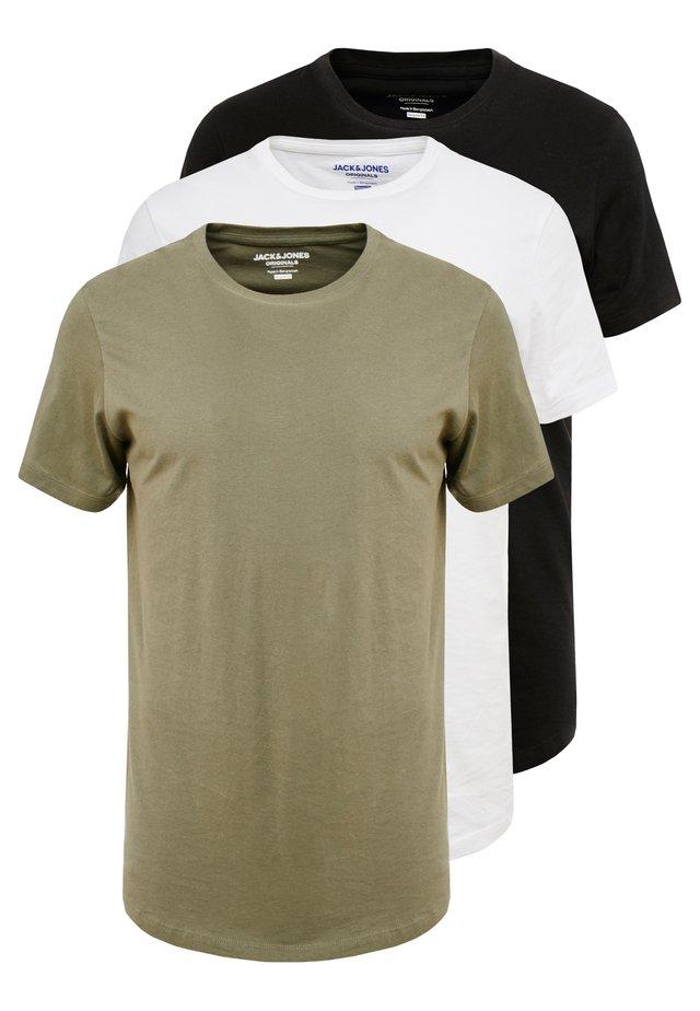JORBASIC TEE CREW NECK 3 PACK - Camiseta básica - multicolor