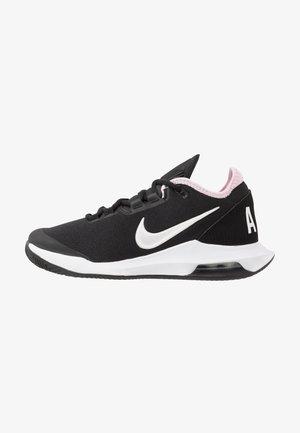 AIR MAX WILDCARD CLAY - Clay court tennis shoes - black/white/pink foam