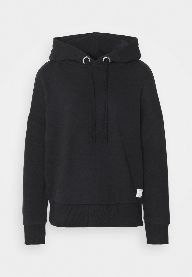 Marc O'Polo DENIM - LONGSLEEVE HOODED - Sweatshirt - black