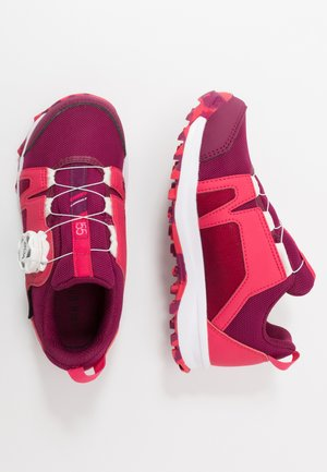 TERREX  AGRAVIC BOA R.RDY - Hiking shoes - berry/pink/footwear white