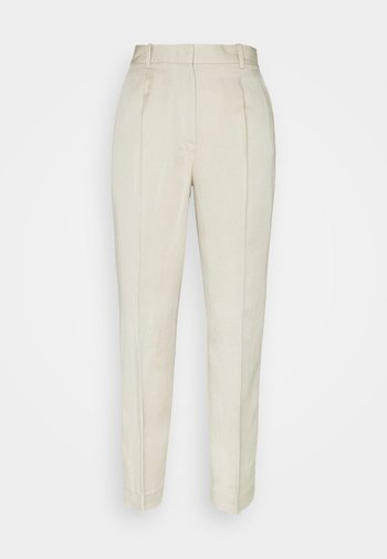 TAPERED - Trousers - light stone