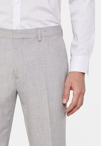 WE Fashion - DALI - Suit trousers - blended light grey - 3