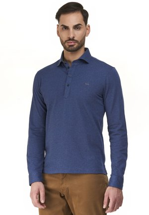 BASIC ML POLSO CAMICIA - Polo shirt - grigio cadetto