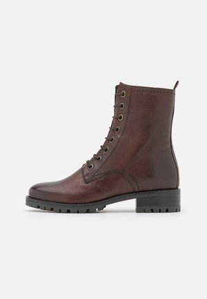 PRESTONE - Lace-up ankle boots - brown