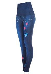 Winshape - HWL102 INDIGO-BLUE HIGH WAIST -TIGHTS - Leggings - indigo blue - 3