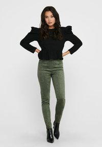 ONLY - Long sleeved top - black - 1