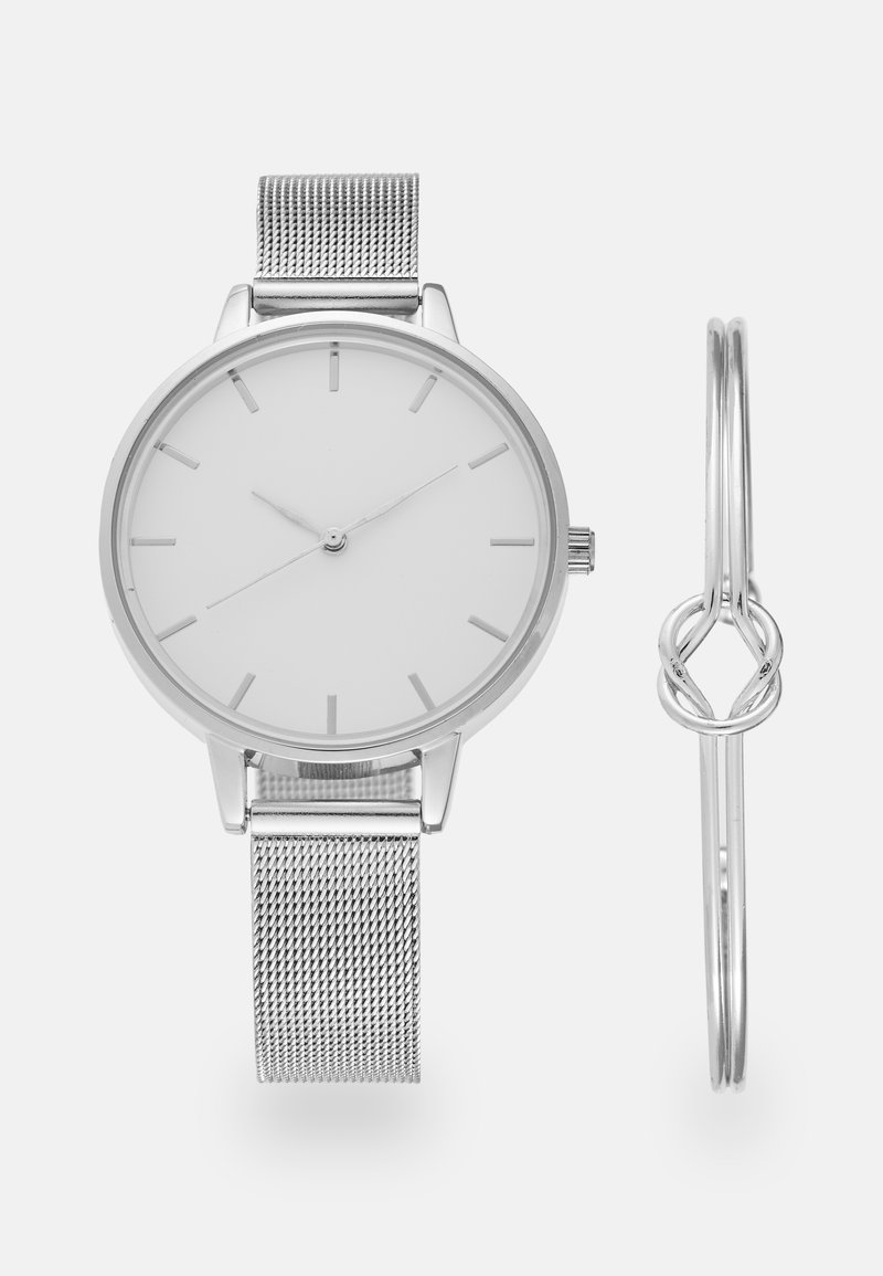 Even&Odd - SET - Watch - silver-coloured
