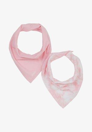2 PACK - Foulard - pink/pink