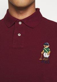 Polo Ralph Lauren - SHORT SLEEVE - Poloshirts - classic wine - 5